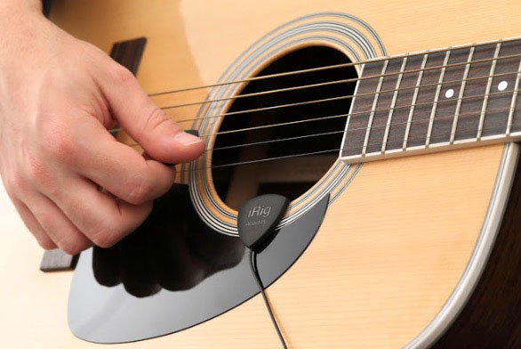 The iRig Acoustic hardware provides avery neat recording solution for acoustic guitars.