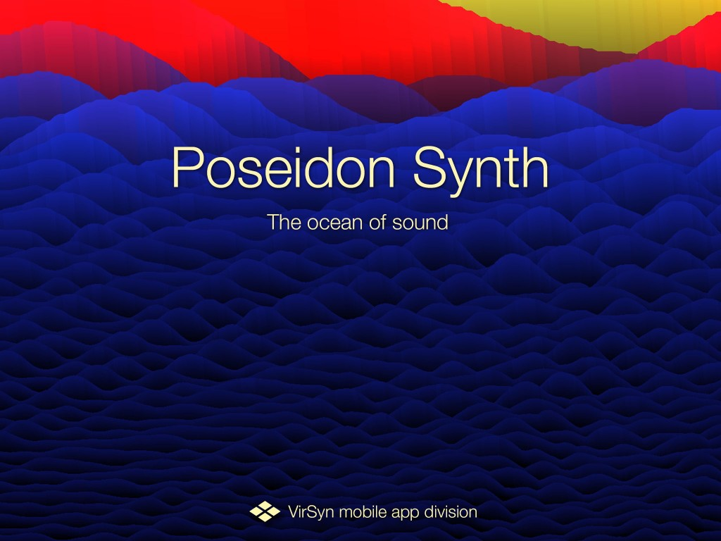 An ocean of sound? The Poseidon splash screen certainly looks worth a dip :-)