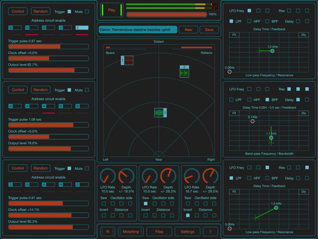 SoundScaper - electronic sound design in an app.