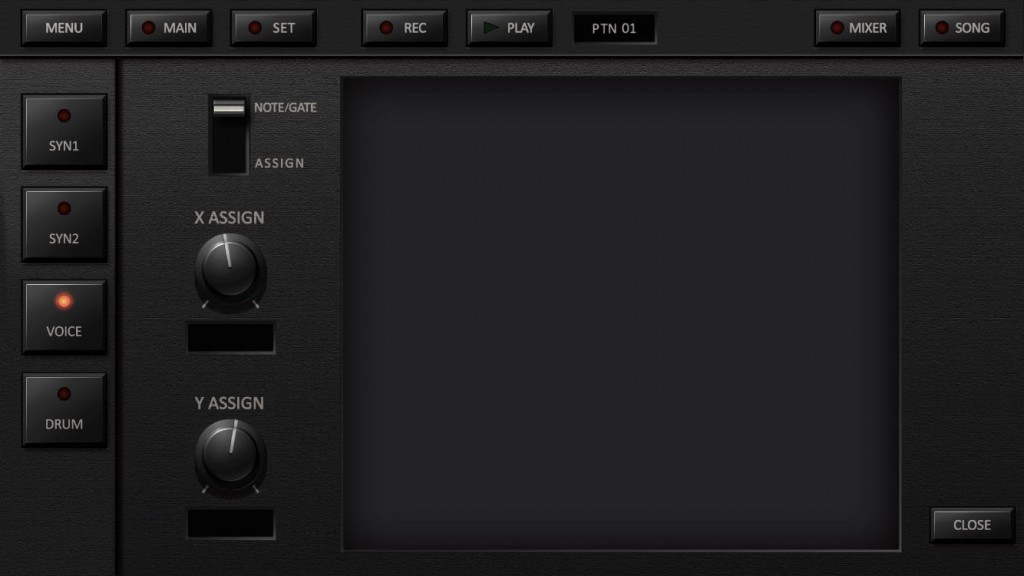 The Kaoss pads can be used for sound tweaking but are also brilliant for note entry.