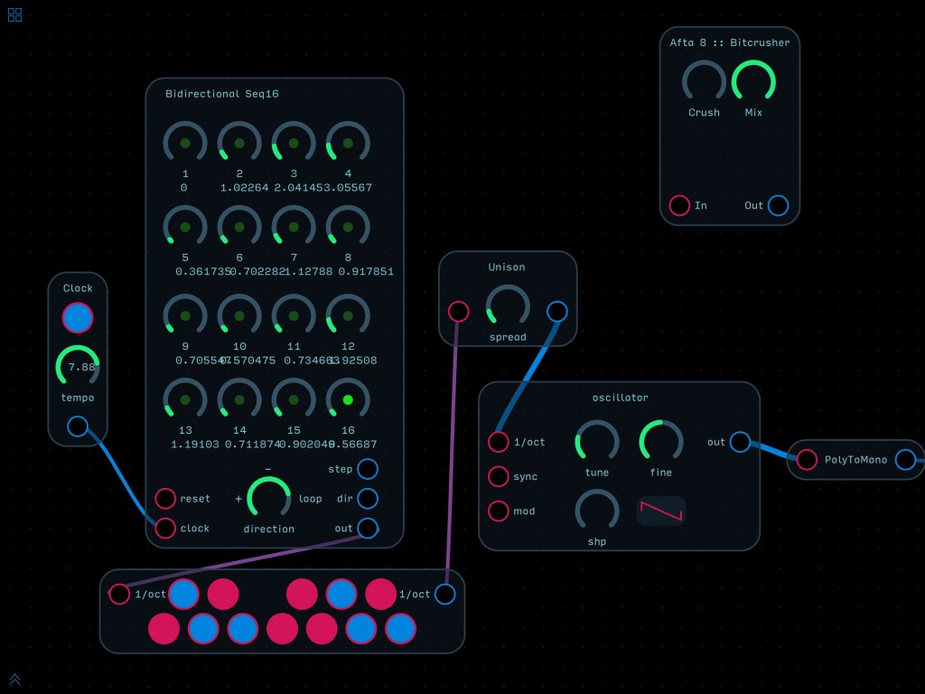 Audulus 3 - DIY synth building gets a new look and new features.