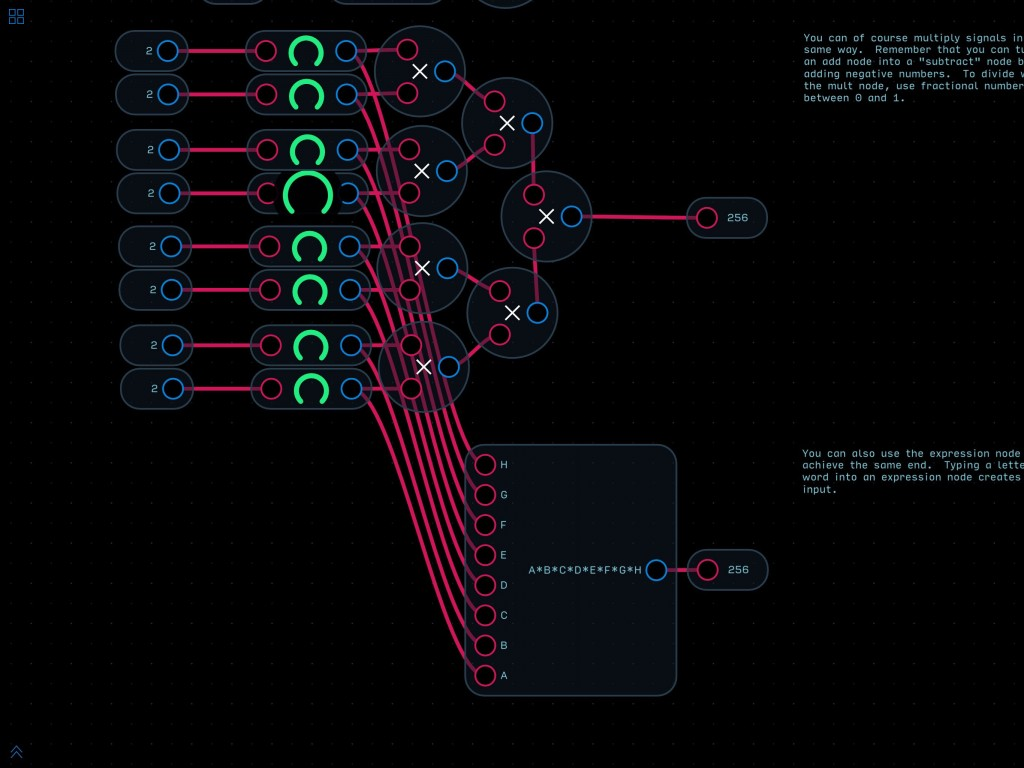 Audulus 3 is perhaps not an app for the preset lover.... but if you are in to DIY synth design, this is a heck of a playground to play in.