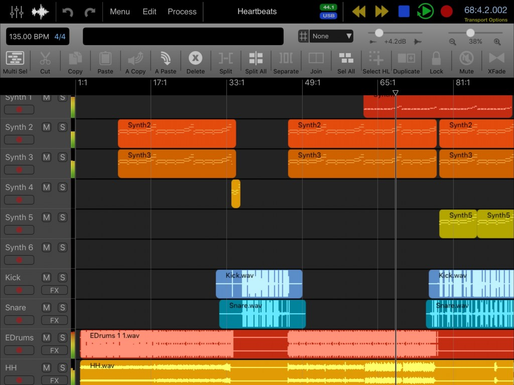 Auria Pro - now a fully-fledged DAW/sequencer with an impressive specification list.