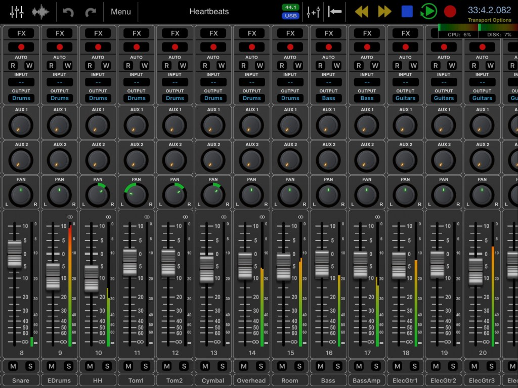 Auria Pro has been through a fairly major graphical re-working.... but remains the same in operational terms.