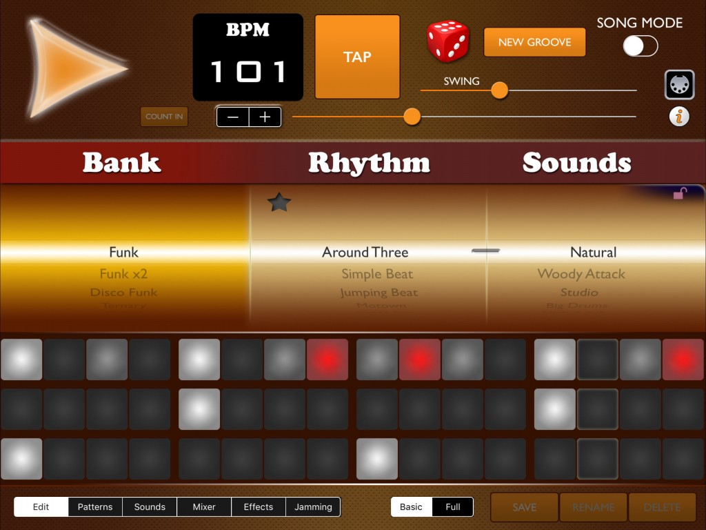 Get the funk out.... Funk Drummer will give you an instant dose of funktastic drumming.