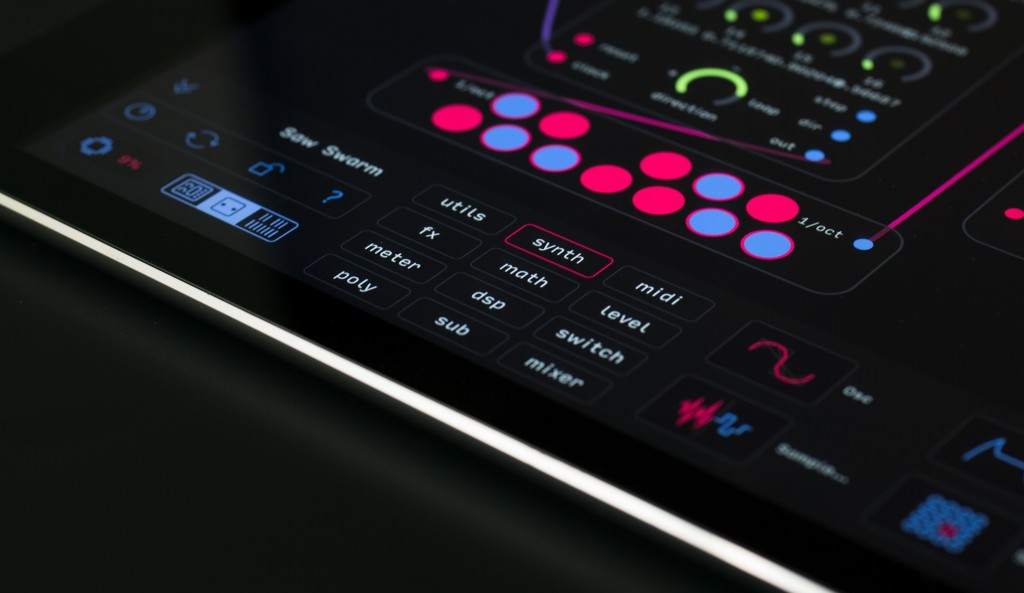 If you like to build your own synths - and other sound sources - Audulus has plenty to offer.