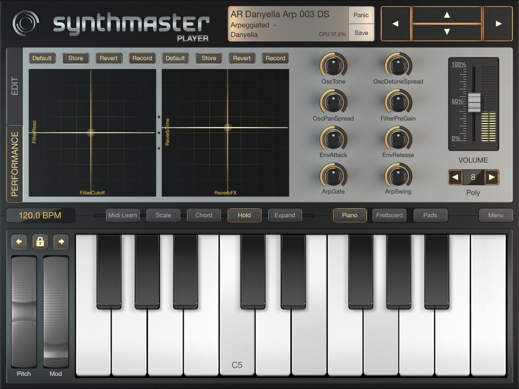 We have some brilliant iOS synth apps to choose from.... including Synthmaster Player which, as a preset-loving, guitar player, has become something of a personal workhorse for me....