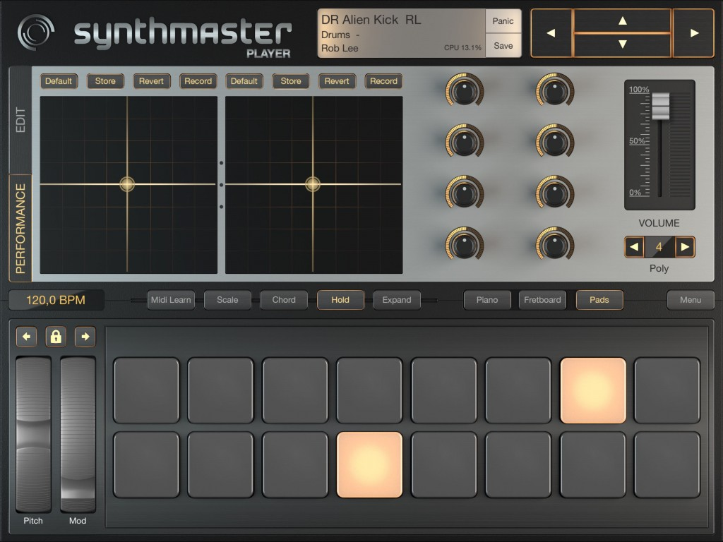There is also a drum pad option added in this update.