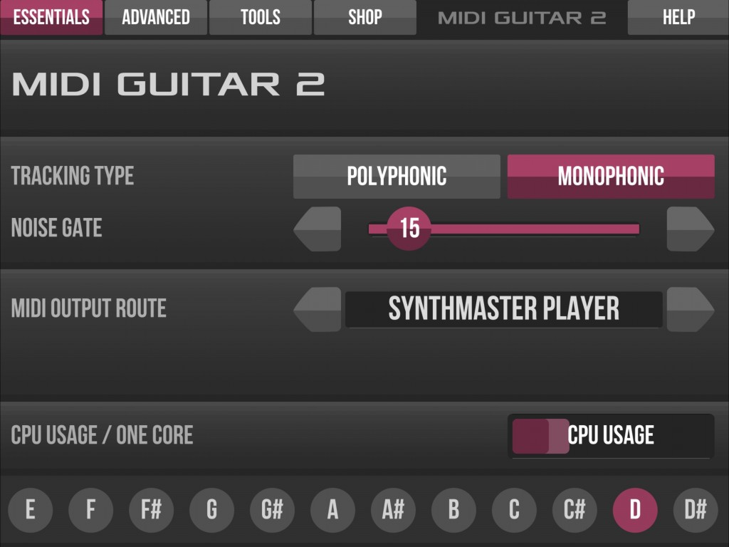 MIDI Guitar 2 - Jam Origin's audio-toMIDI conversion tool has had a substantial overhaul.