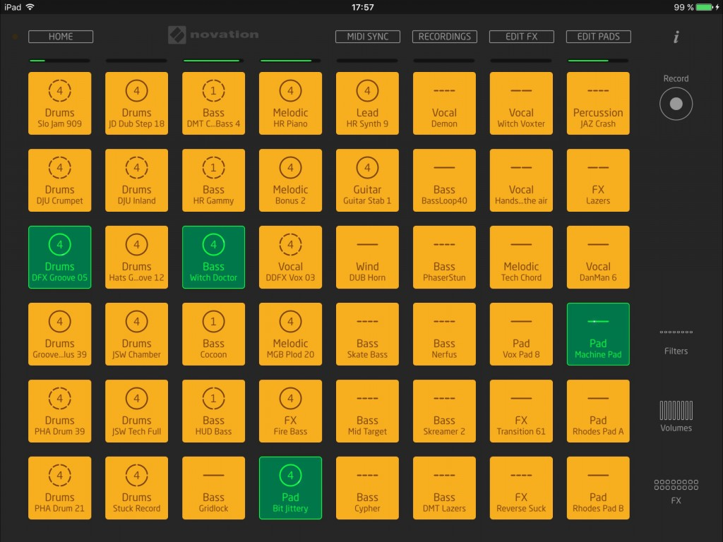 If you like to get creative by mashing together few loops, then launchpad is well worth a look.