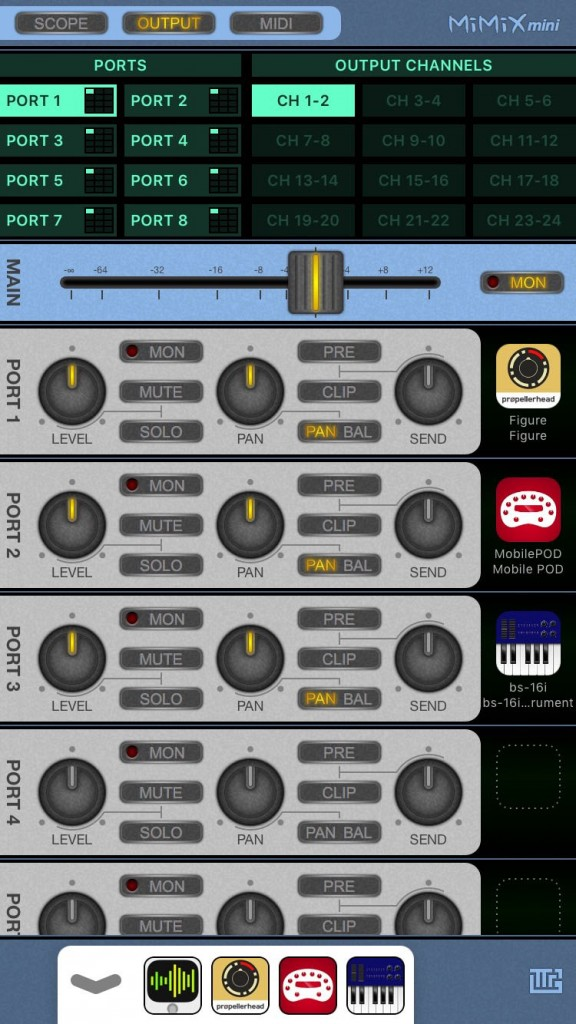 MiMiXmini - an iPhone version of the Audiobus mixer utility app is now available.