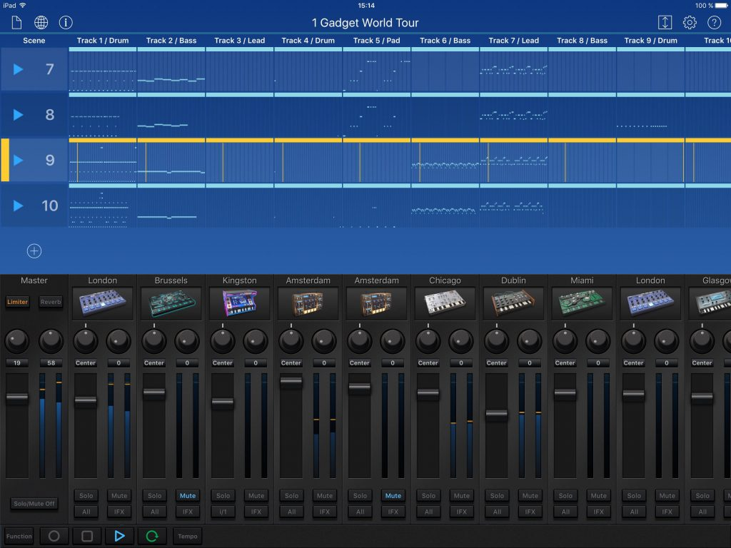 Gadget - a great choice for all-in-one electronic music production.