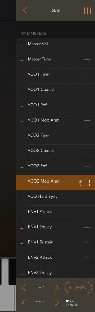 As well as the MIDI routing matrix, you also get MIDI control options if your hosted apps support it....
