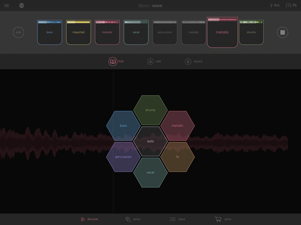 Blocs Wave - Novation provide an alternative way to get creative with audio loops.