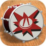 DrumStudio update – compact iOS playable drum kit app with sequencer gets 64-bit support