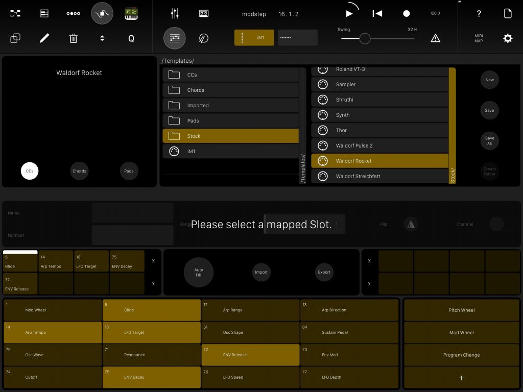 The Template Editor is a powerful environment for those that like to go deep with their MIDI configurations.