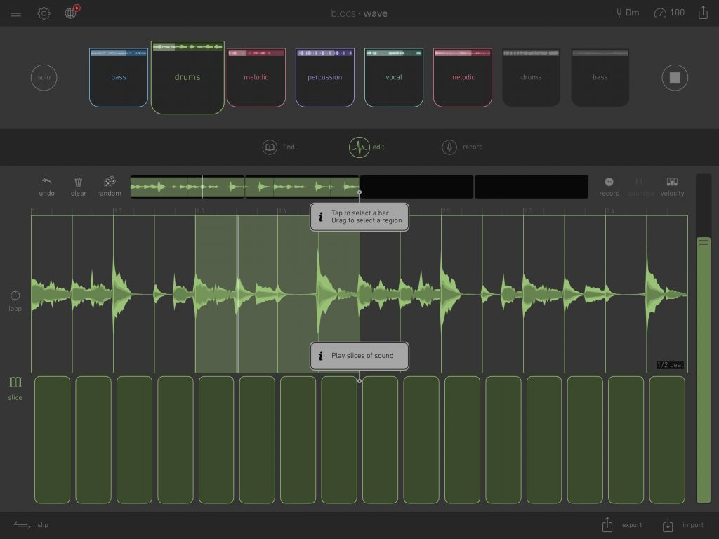 Blocs Wave's new Slice Mode provides some very useful loop slicing features allowing you to get more creative with your loop content....