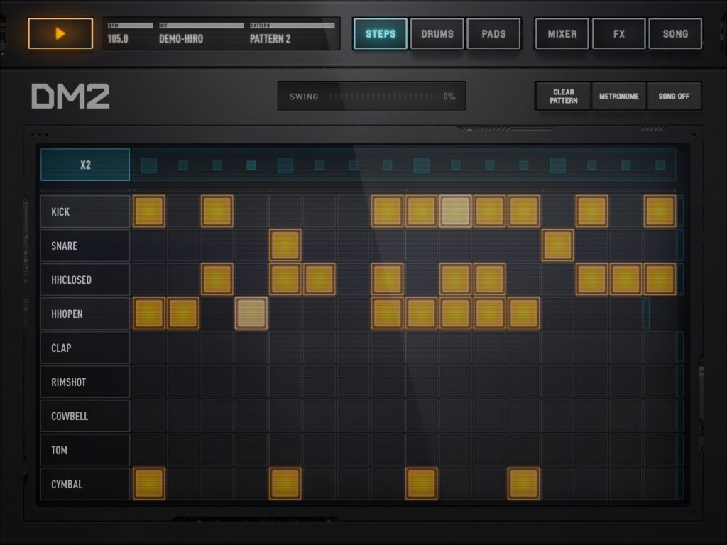 DM2 - Audionomy offer up a drum synth app for the iOS masses.