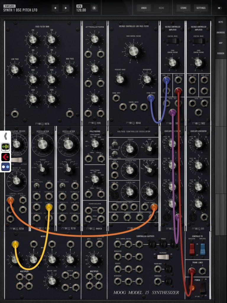 Model 15 - huge flexibility and equally huge sound :-)