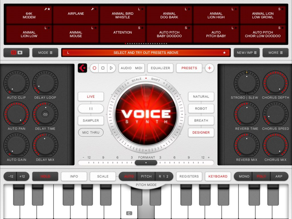 Voice Synth has received a significant update - inside and out.