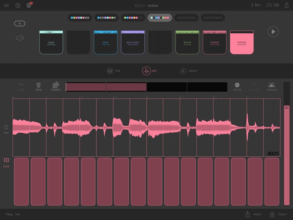 Combined with the slice feature, Novation are quickly turning Blows Wave into a great loop-based composition tool.