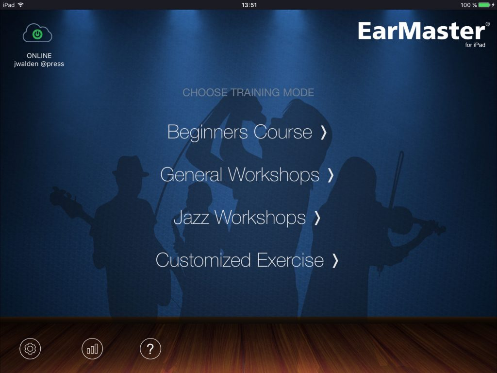 EarMaster - work on your musical skills from the comfort of your iPad.