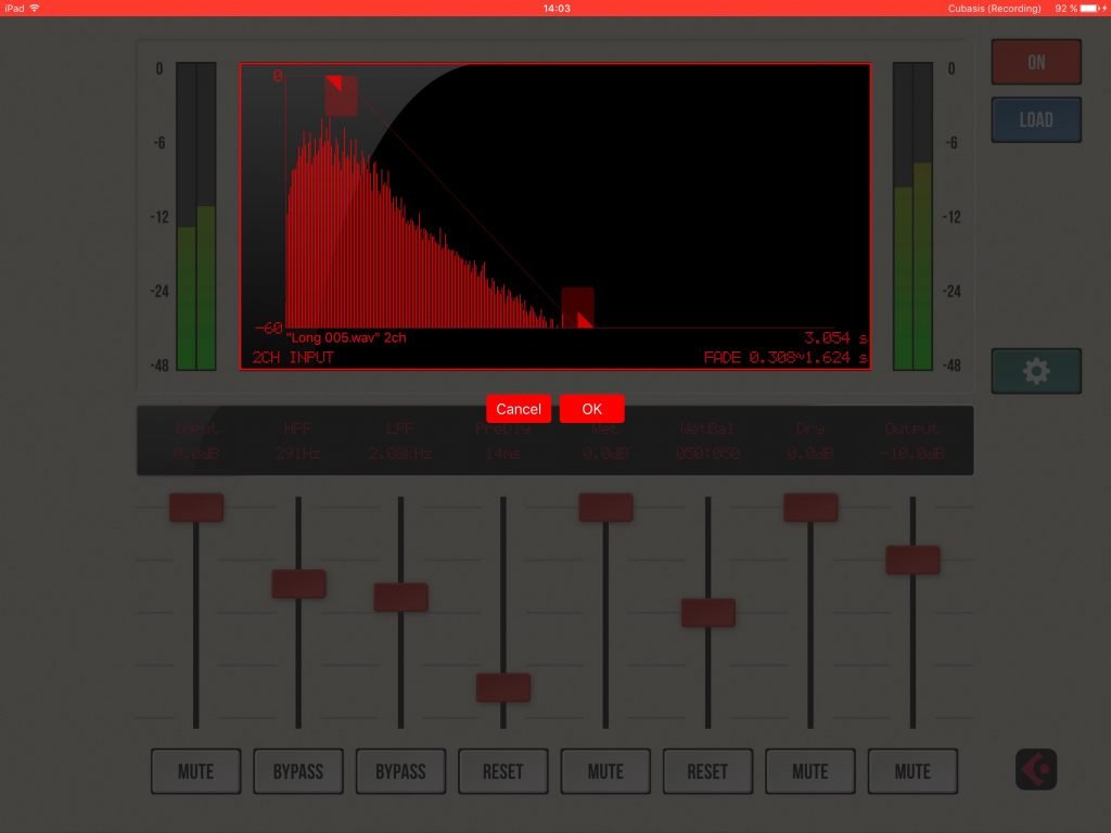 You can adjust the length and decay of the reverb's amplitude envelope to adjust the time element of the ambience generated.