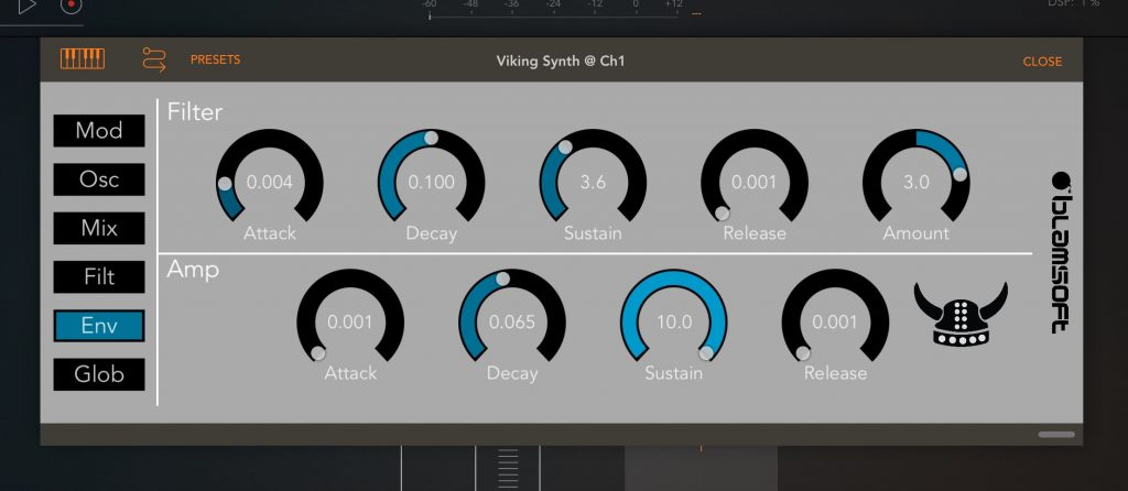 viking synth in aum 6