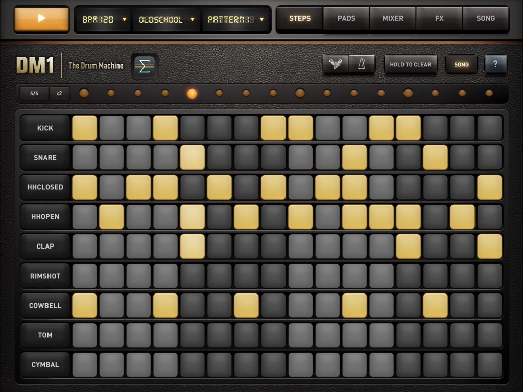DM1 - now a bit of an iOS classic for sample-based drum sounds.
