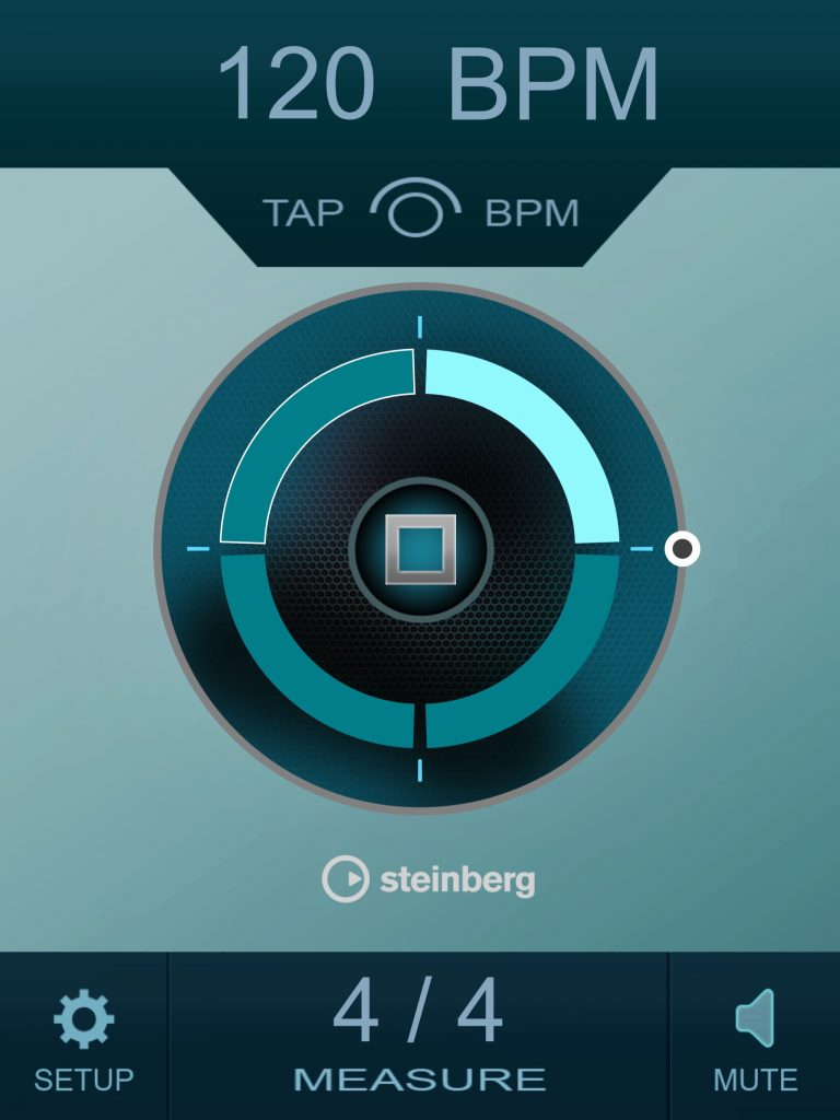 Smart Click - a stylish and flexible metronome app from Steinberg - and it's free :-)