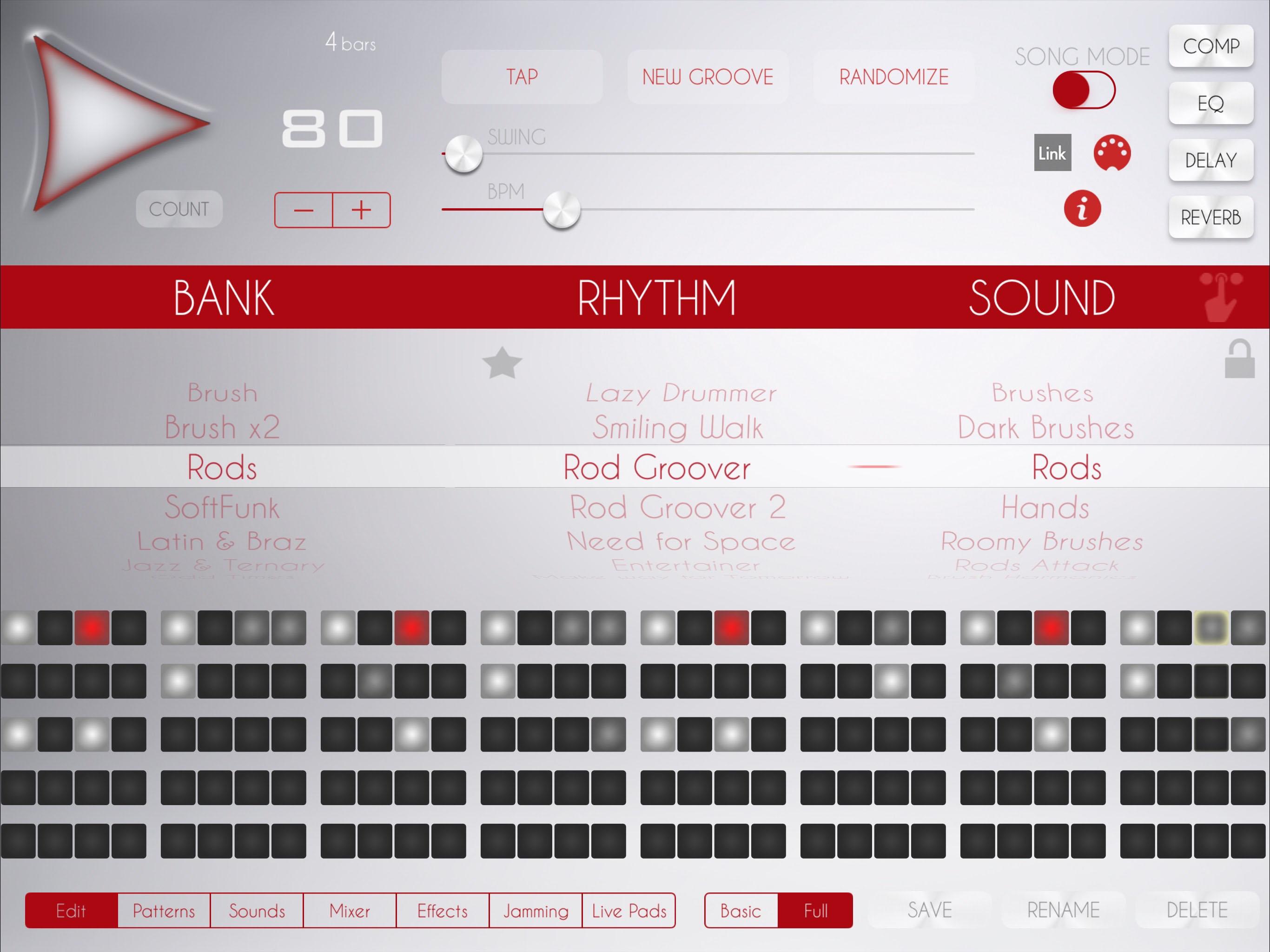 soft drum machine