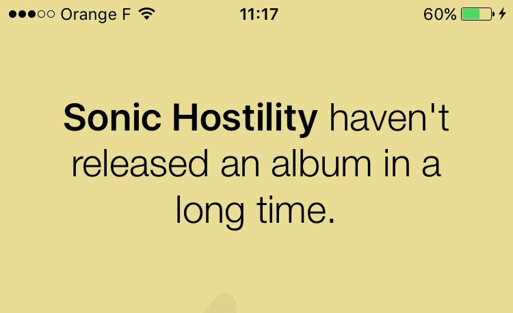 Oooh.... Sonic Hostility.... Hard-core rap-metal maybe?