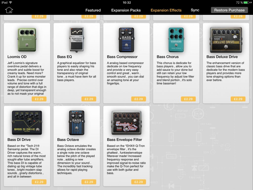 You can also purchase the items within the new bass Expansion Pack individually.