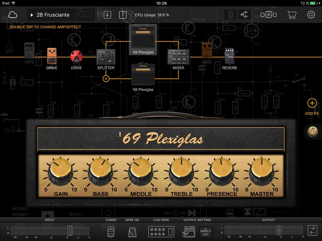 BIAS FX - Positive Grid's flagship iOS guitar rig sim....