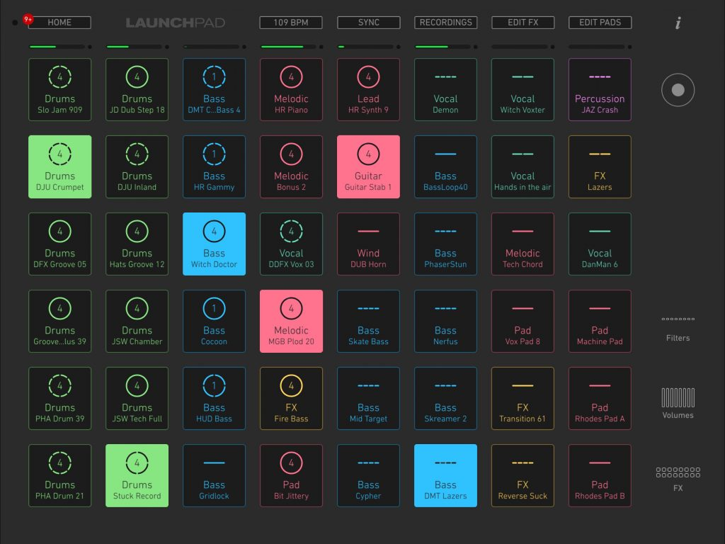 Launchpad v.3 - now with added colour :-)