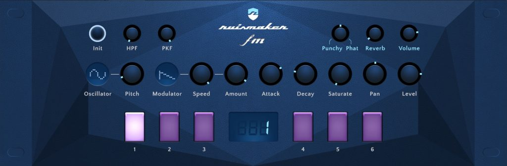 Ready for another slice of AU-based electronic drum sounds? If so, Ruismaker FM is just the thing....