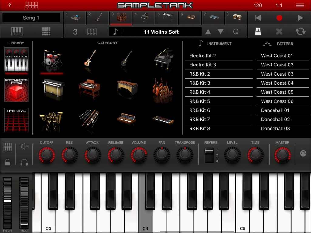 SampleTank v.2.0.0 - a significant update to the app including a redesign of elements of the UI.