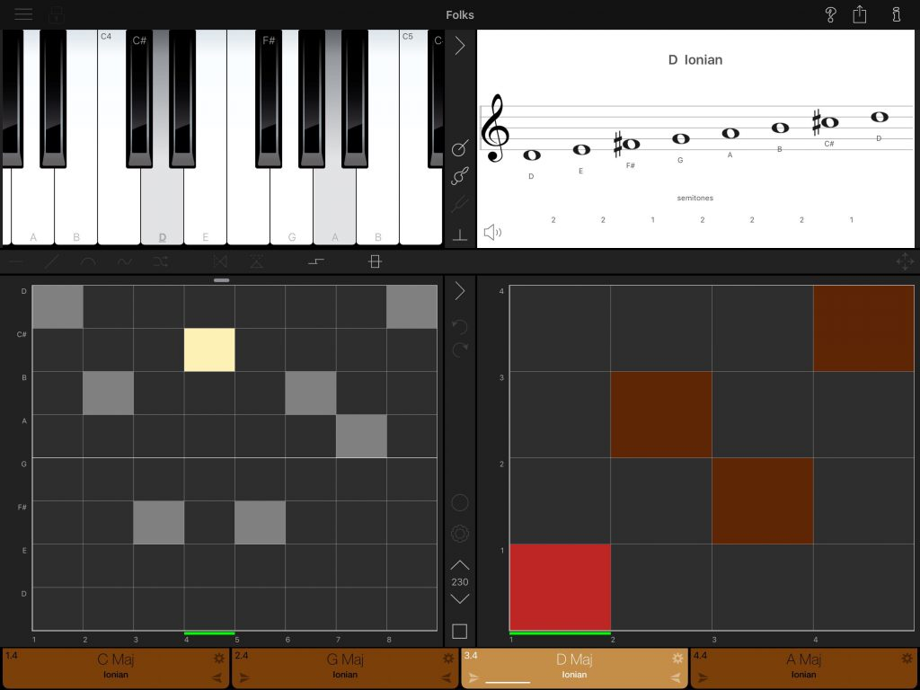 ScalePlay - part music tuition/practice tool, part generative music app and part musical instrument.