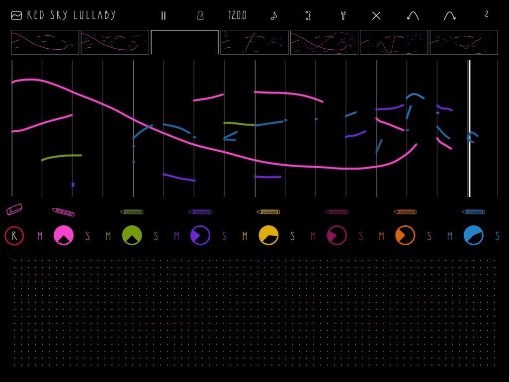 fluXpad - sample-based music creation by drawing :-)