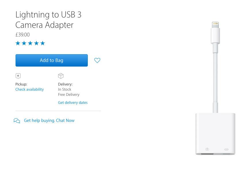 I'm not sure if the Lightning to USB3/Lightning adaptor might help those struggling with the loss of the analog headphone jack.... Feel free to leave a comment below if you get a chance to try this....