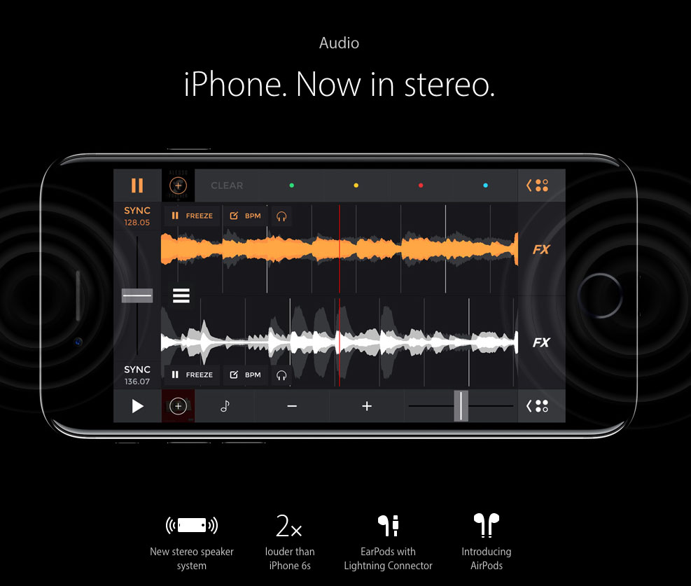 The new iPhone does include stereo speakers so, as with the iPad last year, this should improve the audio listening experience....