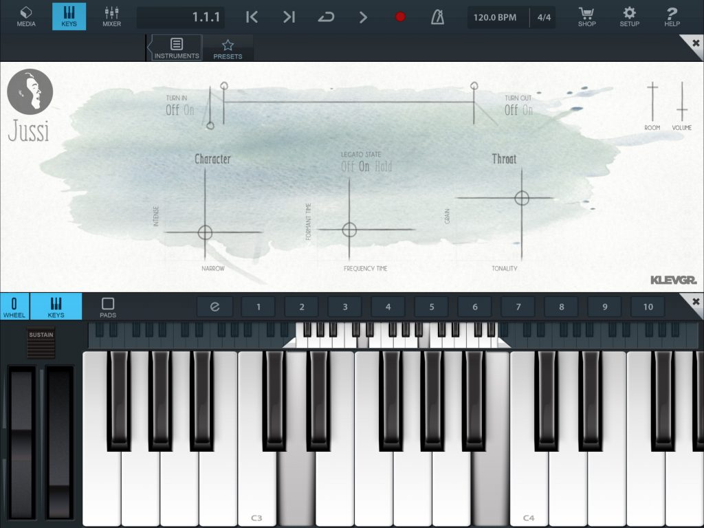 Jussi - when used via AU, you get MIDI control of the app, as seen here within Cubasis.
