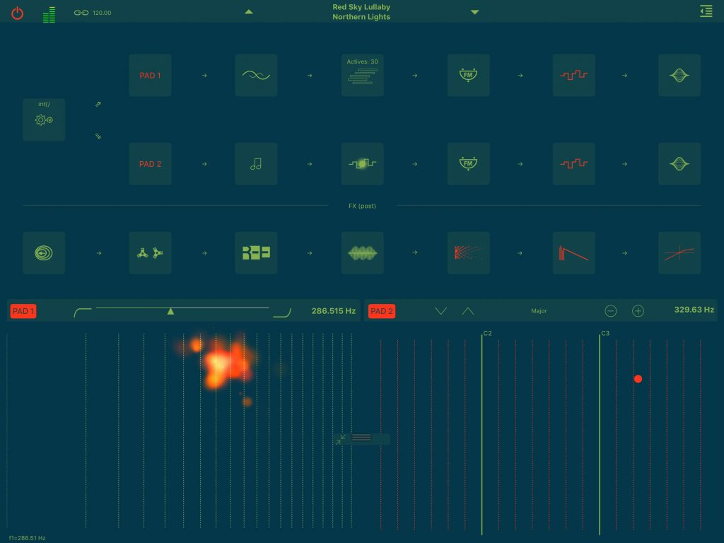 Stria - apeSoft's less than conventional take on FM synthesis.