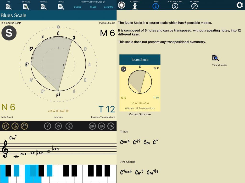 Tessitura Pro - a whole encyclopaedia of music theory is a single app.