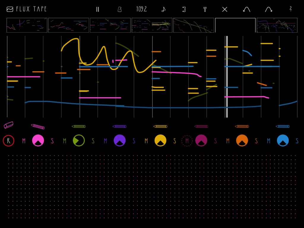 fluXpad - not your conventional music creation environment :-)