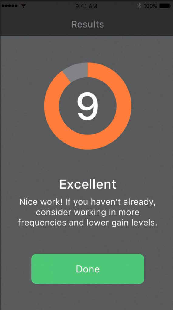 The app provides useful feedback and the quiz format helps to give your practice some focus.