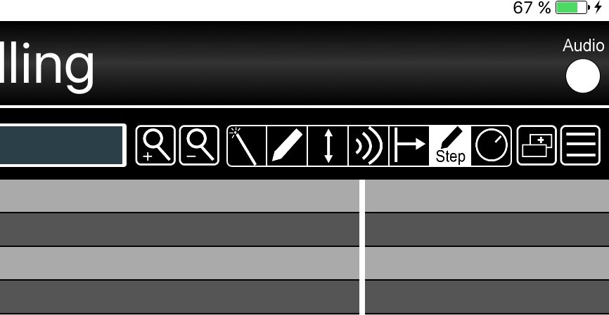 The piano-roll system now includes an option for step-based data input.