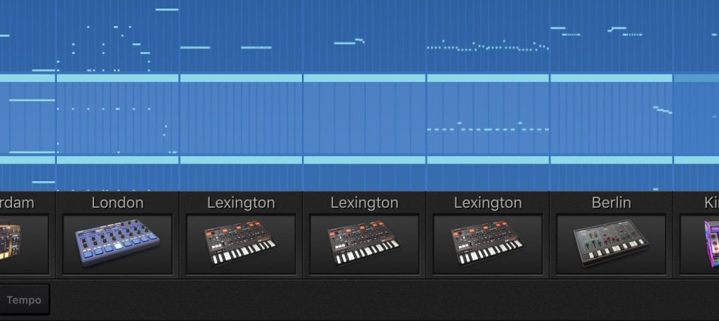 ... and, yes, you get to play multiple instances of lexington in your Gadget project.