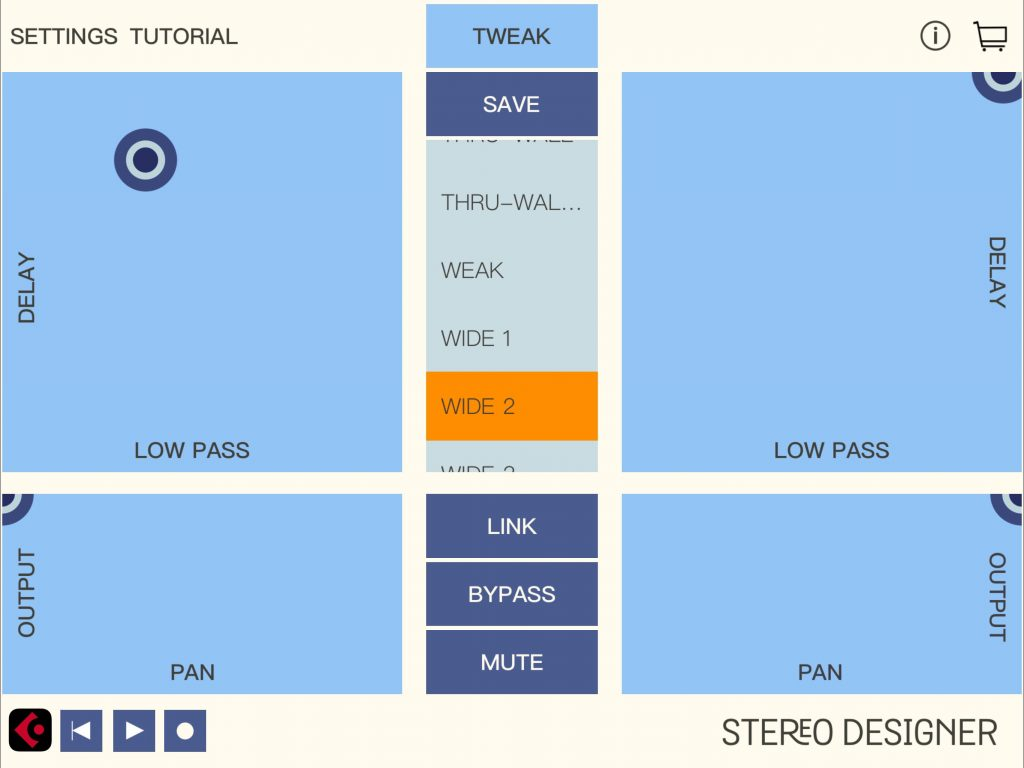 Stereo Designer brings a very different design approach... and the two apps perhaps suits different types of user.