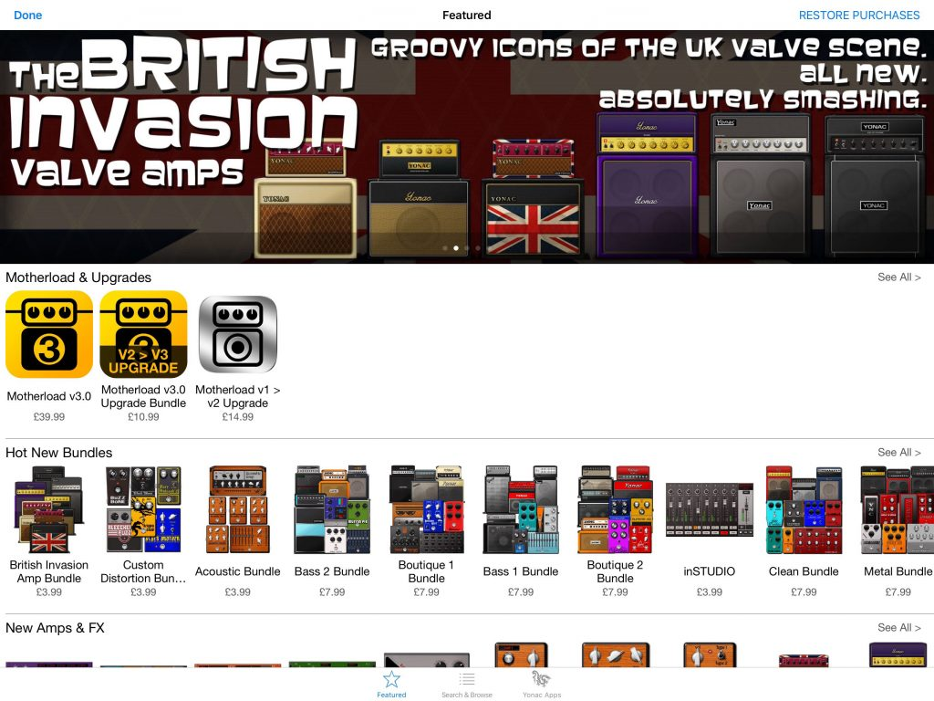 The base app is a great place to start....  the the Store contains lots of very tempting additional 'kit' to explore.